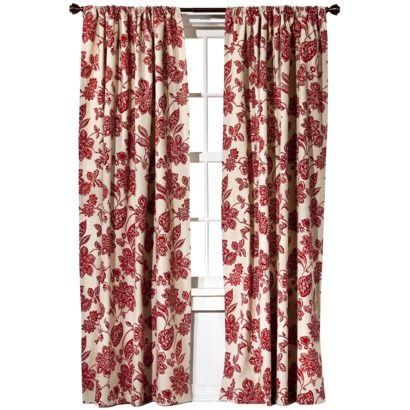 red curtains target | bedroom | Pinterest | Window treatments ...