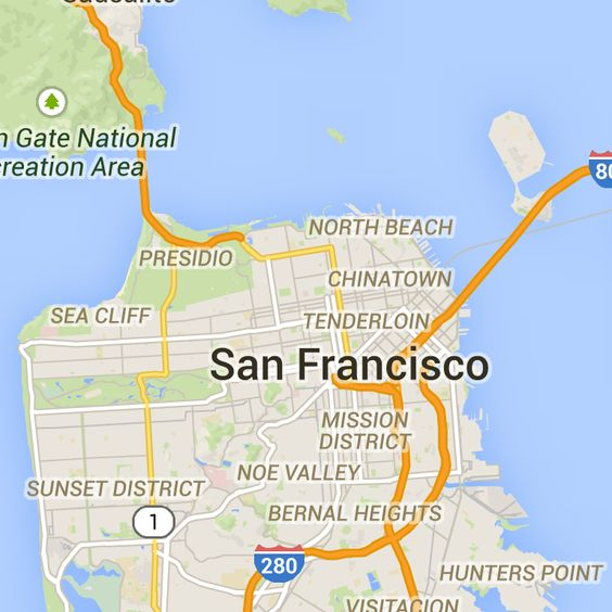 Driving directions to Golden Gate Bridge San Francisco CA – Google Travel Maps And Directions