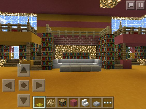 Epic minecraft pocket edition house I made with my friend kid