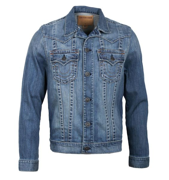 True Religion Jimmy Western Washed Denim Jacket - https://www ...