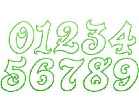 Graffiti Numbers – Seven Graffiti Style graffiti letters number ...