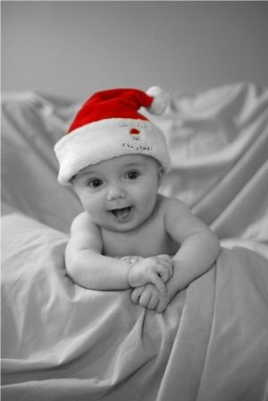 Baby Christmas Photo by Coeny