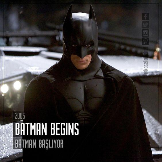 Film Önerisi : Batman Begins (Batman Başlıyor), 2005. #koseliobjektif #instagram #facebook #twitter #youtube #pinterest #film #sinema #fragman #movie #cinema #trailer #films #movies #trailers #imdb #batman
