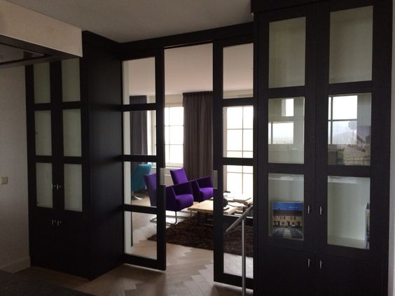 Mooie tussen schuifdeur scheiding woonkamer keuken eetkamer deuren en ramen pinterest - Eetkamer en woonkamer ...