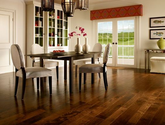 Charmant 20 Great Contemporary Dining Rooms With Combination Of Light Wood Flooring  | Contemporary Dining Rooms, Small Dining Rooms And Small Dining