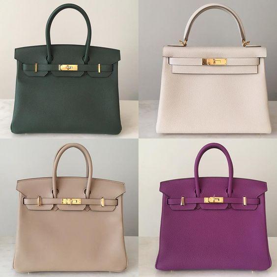 birkin replica handbags - Hermes birkin 30 in vert anglais epsom leather, kelly 28 in craie ...
