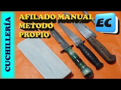 Afilado De Cuchillos Y Navajas Sin Maquinas Muy Facil Youtube Afilador De Cuchillos Como Afilar Cuchillos Cuchillos
