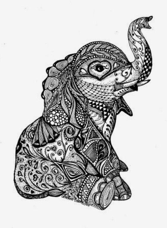 Picture 84184 Elephant Png Mandala Elephant Coloring Page Mandala Elephant Mandala Drawing