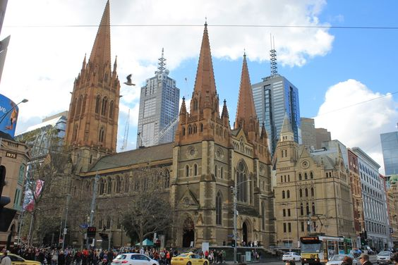 The magic of history in Melbourne.