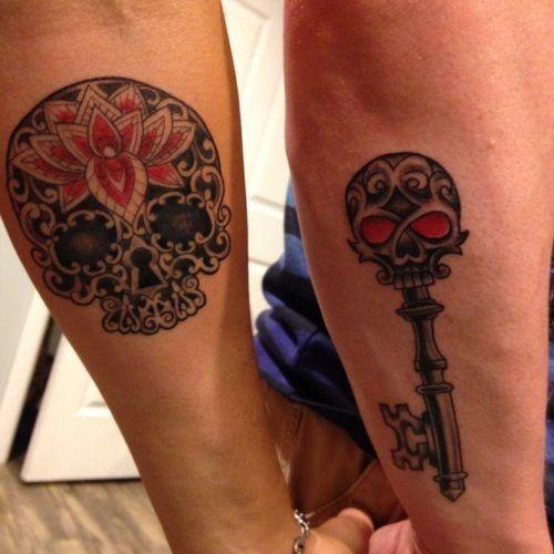 Tatuajes De Amor Para Parejas Muy Enamoradas Tatuaje Pareja Calavera Tatuajes De Amor Tatuajes A Juego Para Parejas