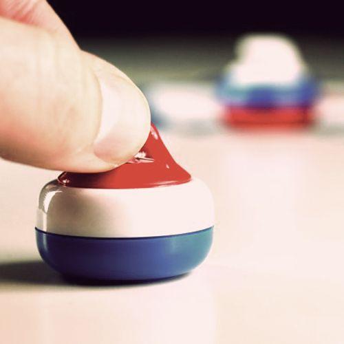 Desktop curling