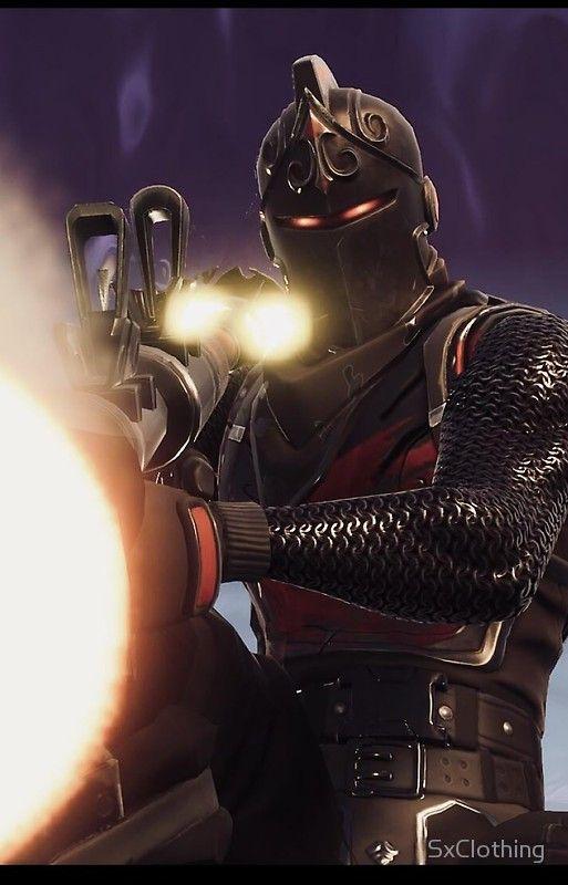 Fortnite Black Knight Skin Case Jogos