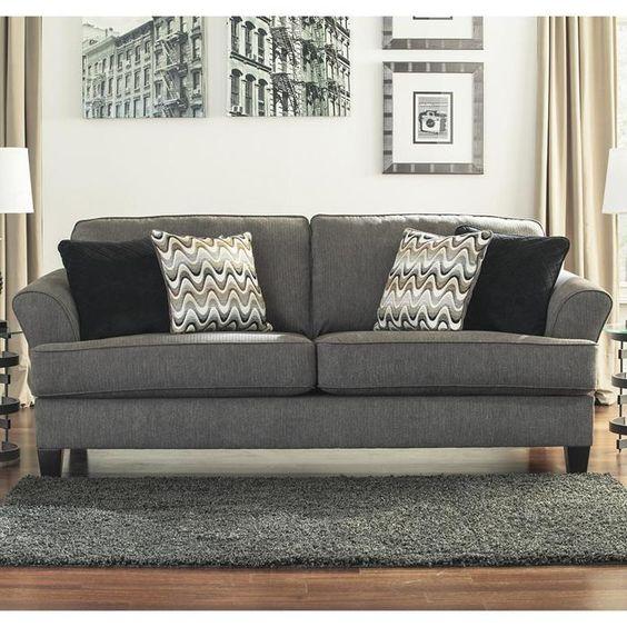Gayler Sofa In Doralin Gray Nebraska Furniture Mart 349 Living Room Pinterest Gray