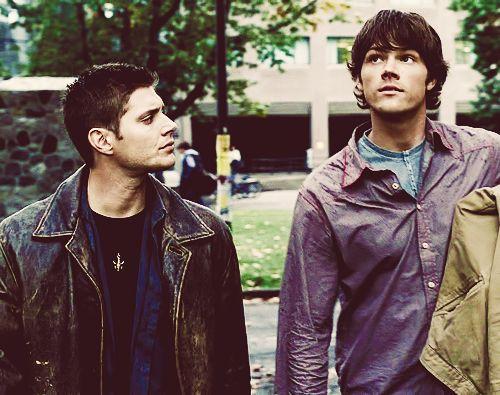 Namore alguém que olha pra você como o Dean olha pro Sam.