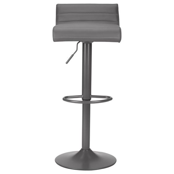 Faux Leather Bar Stool with Metal Base/Bar & Counter Stools/Dining Room/Furniture|Bouclair.com