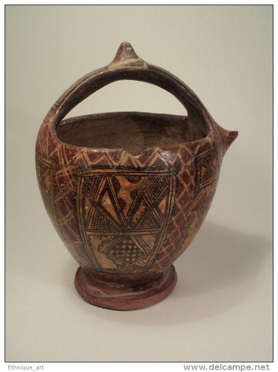 ANCIEN POT A BOUILLON POTERIE KABYLE BERBERE IDEQQI ALGERIE KABYLIE