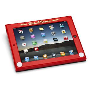 Etch A Sketch iPad case. Awesome.