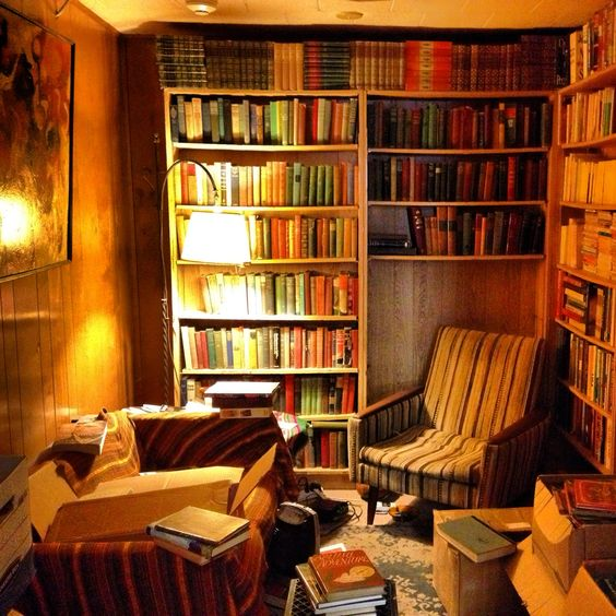 OMG How Cozy Is This LOVE This Room Bookstores Libraries
