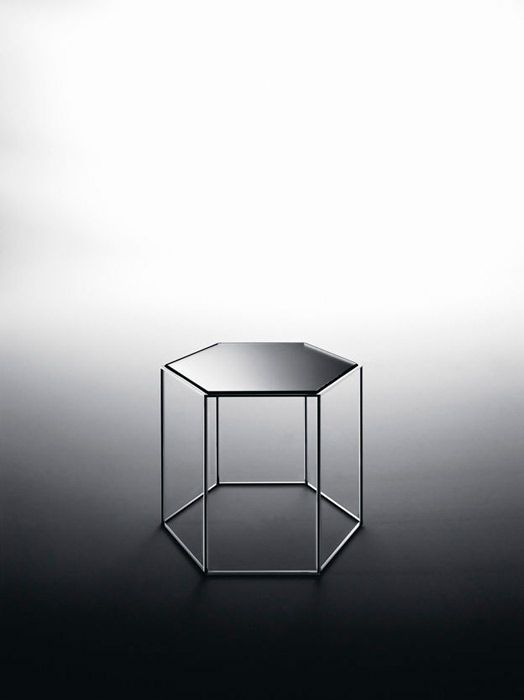 side table 'Hexagon Table' by Tokujin Yoshioka