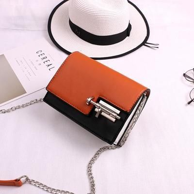 Mini Casual Small Messenger Bags New Women Handbag with Mortise Lock C – intothea