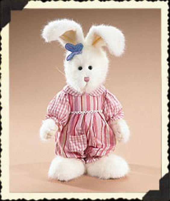 "Boyds Bears""Margo Flutterbuns"" -12"" Bunny - #904512 -NWT-  2006- Retired"