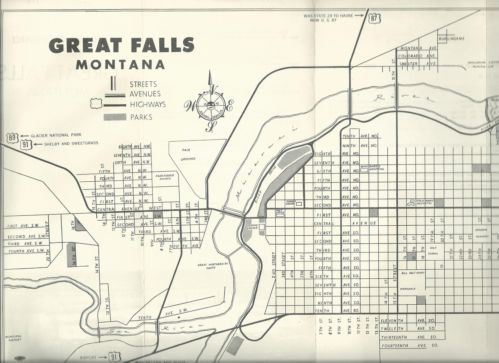 Great Falls Montana Great Falls And Brochures On Pinterest