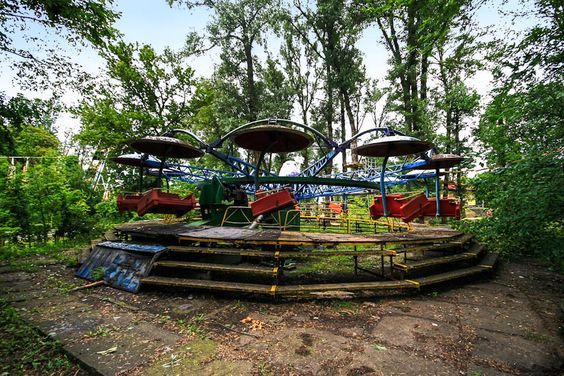 Abandoned Ride, Hydropark Kiev