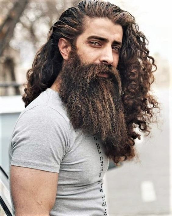 Your Daily Dose Of Great Beards From Www Beardedmoney Com Long Hair Beard Long Hair Styles Hair And Beard Styles