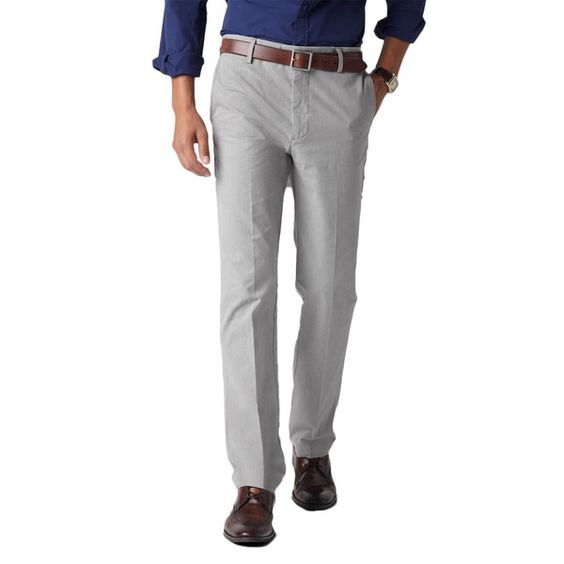 Dockers Hose - Khaki Microscheck - Black Mini Chek #jeans #khaki #dockers #style