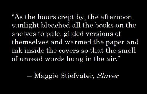 Maggie Stiefvater, Shiver: