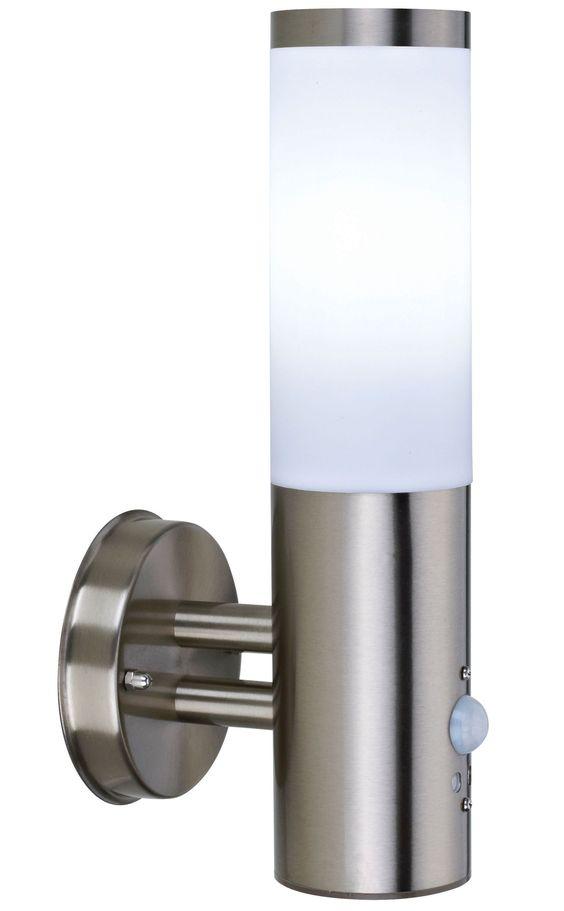 Blooma Nomos 6W Mains Powered Wall Light with PIR | Departments | DIY at Bu0026Q