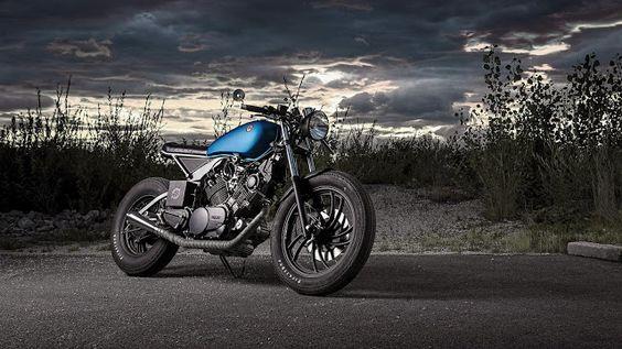 "Racing Cafè: Yamaha XV 750 ""Cosmic"" by ER motorcycles"