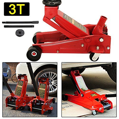 Multiware Hydraulic Trolley Jack 3 Ton Car Floor Jack Multiware