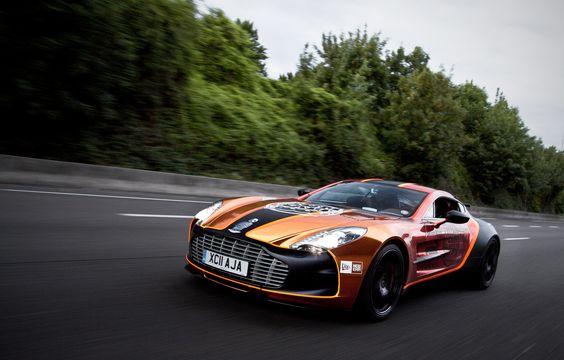 Keep on dreaming. Dream car... [Austin Martin ONE-77]