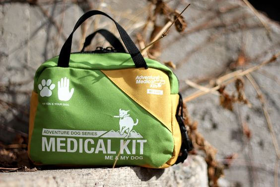 It comes with dog-specific first aid products and instructions on treating animal injuries.