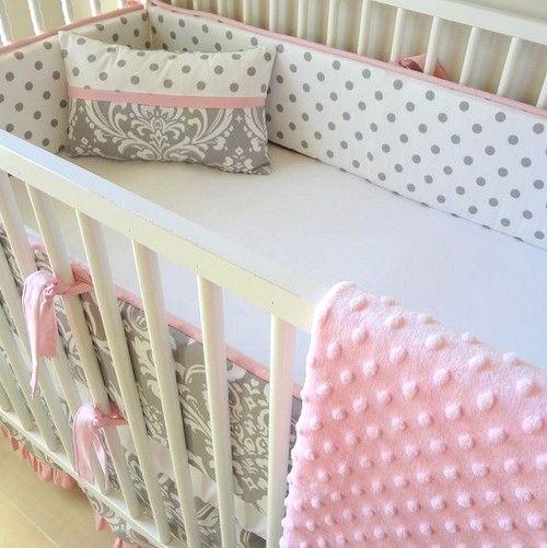 28 White Cribs Interiordesignshome Com Baby Bedding Sets Pink