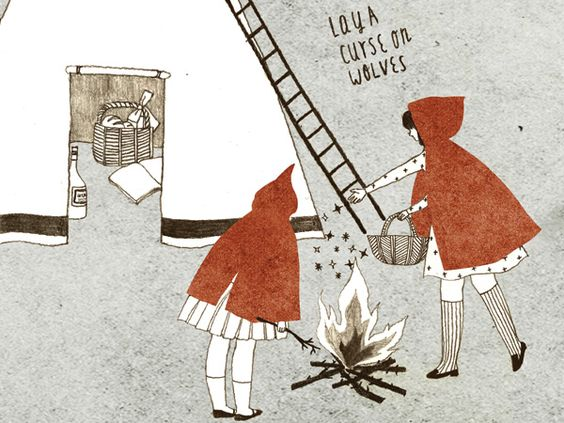 The Working Proof: Madame Lolina – Red Riding Hood at Sub-Studio Design Blog