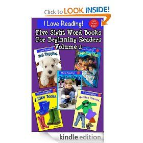 Free Today!  5 Kindle books in one for young children learning to read.