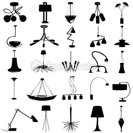 Modern lighting by bogalo - Imagens vectoriais em stock