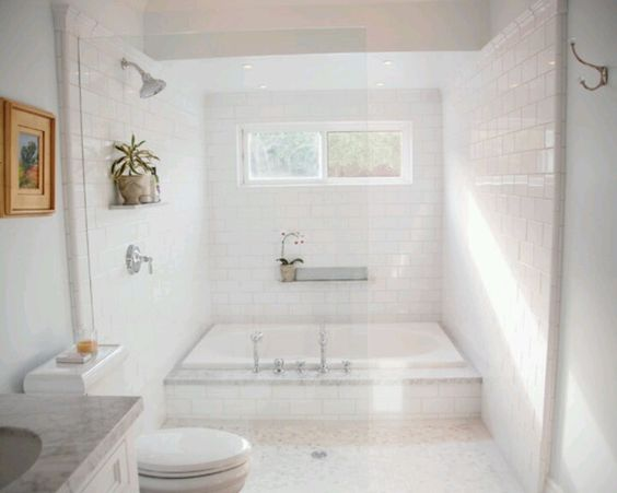 Large tub shower combo my forever home decor for Garden bathtub shower combo