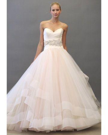 Lazaro wedding Gowns, Spring wedding dresses