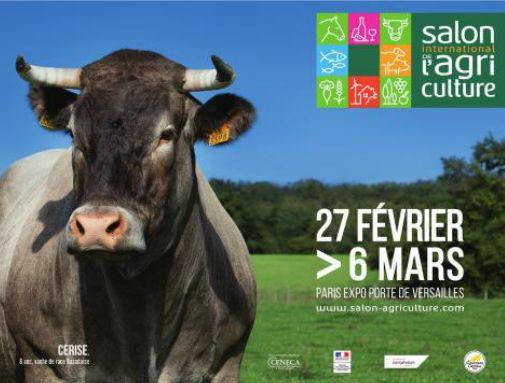 Salon de l'agriculture 2016, hall 7. La cancoillotte sera à l'honneur sur le stand de la région Bourgogne Franche-Comté (hall 7 ) le dimanche 28 février à 10h, 11h et 13h. Et également à l'honneur le jeudi 3 mars.  http://bit.ly/1WvVQeu