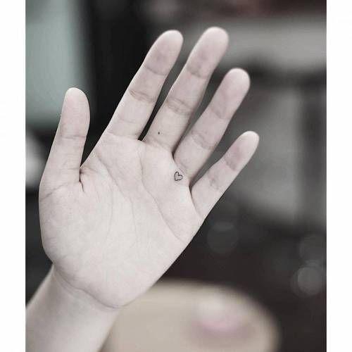 Smalltattooscom Tiny Heart On The Hand Palm Tattoo Artist Palm Tattoos Hand Palm Tattoos Tiny Heart Tattoos