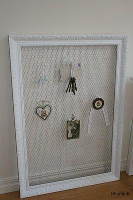 Lijst met kippengaas diy volwassenen adults pinterest chicken wire chicken wire frame - Slaapkamer decoratie volwassenen ...