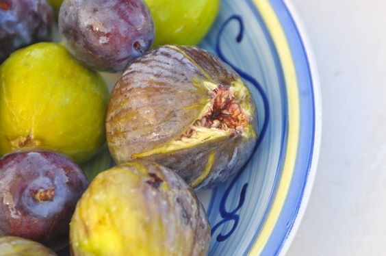 figs & wild plums from Calabria, Italy
