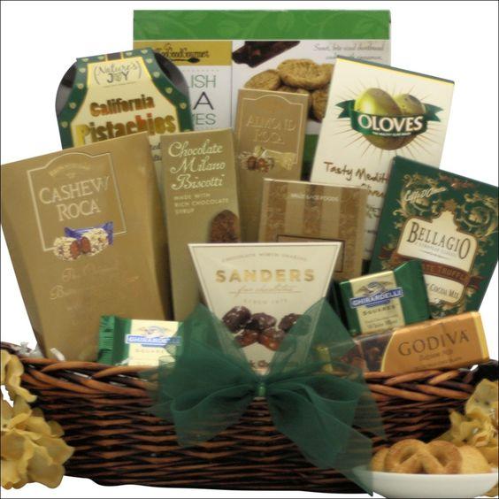 Gourmet Kosher Gift Basket Medium Blueberry Creek Gift Baskets