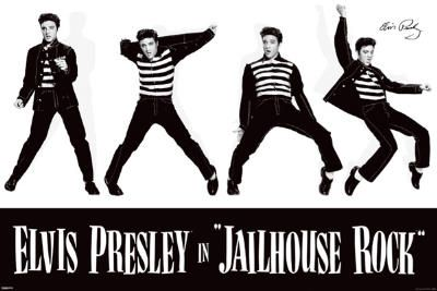 Jailhouse Rock Movie Elvis Presley Poster Print