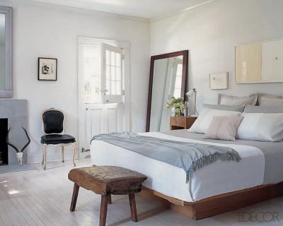 Elle Decor - Kevin Carrigan & Tim Furze - Lovely blue gray lilac pink bedroom design ...