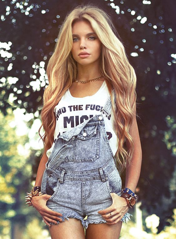 "Love the overalls, but the shirt says, ""who the f@&*s Mick Jagger"". Not cool.:"