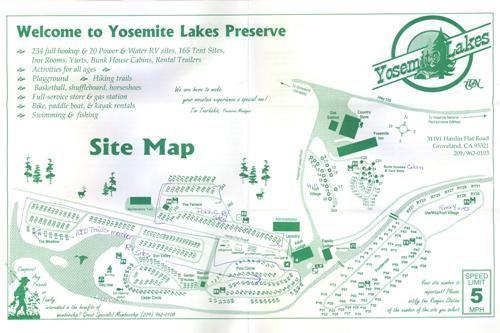 Yosemite Lakes Park Camping Resort